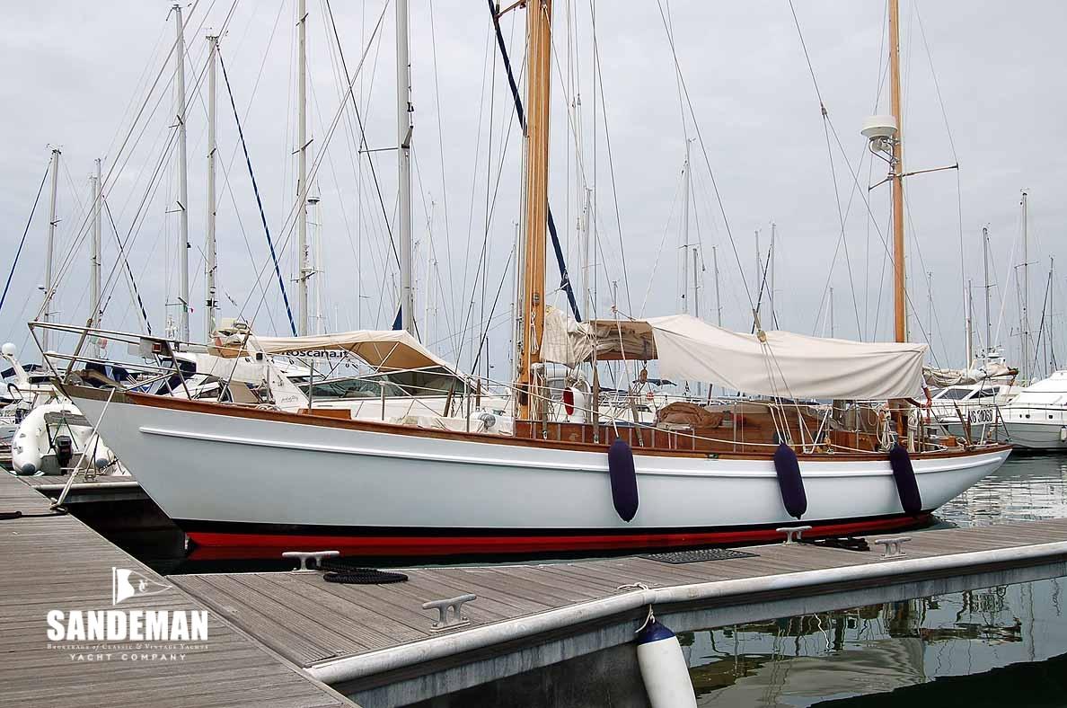 Sparkman Stephens 52 Ft Yawl 1975 Sandeman Yacht Company Sailboat Mast Wiring Diagram Dsc 2577a