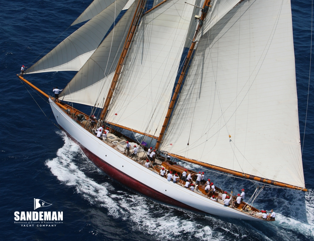 William Fife Iii Gaff Rigged 108 Ft Topsail Schooner 1931