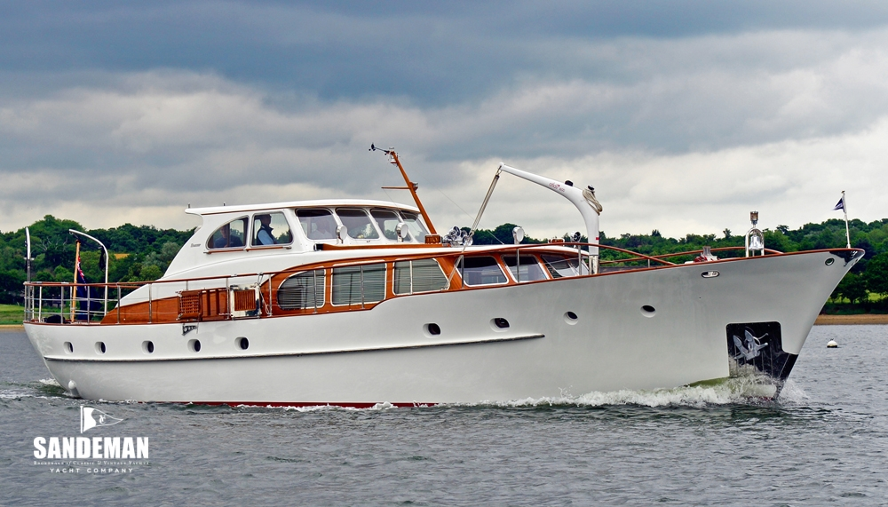 Feadship 62 ft motor yacht 1961 sandeman yacht company for Used boats and motors