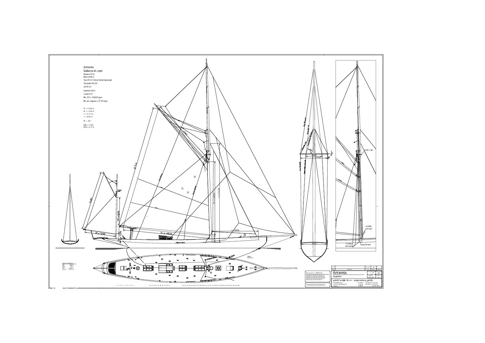 Summers And Payne 95 Ft Yawl 1900 Sandeman Yacht Company
