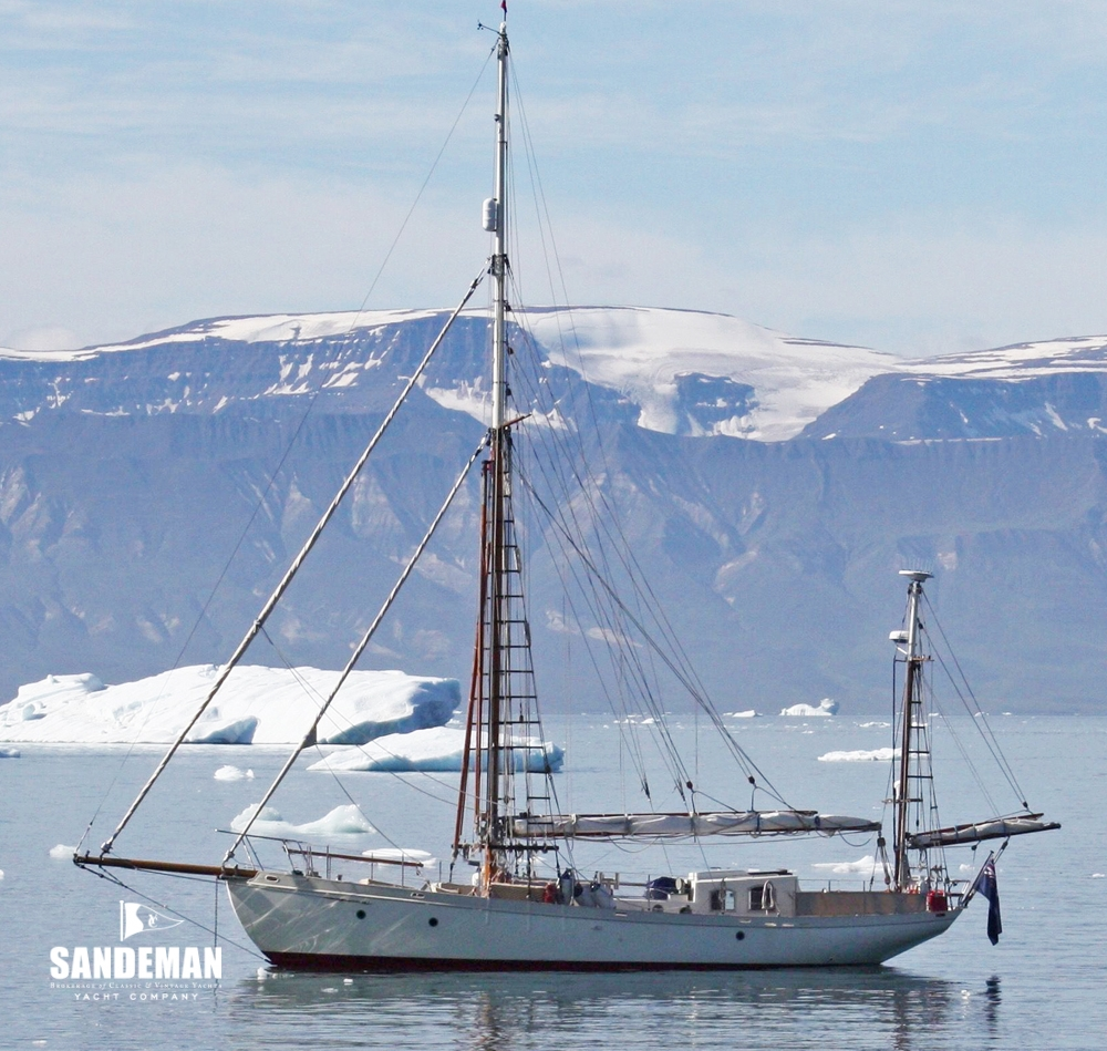 44 Ft Gaff Rigged Yawl 1995 Sandeman Yacht Company Tall Ship Rig Types Plate 4 View Gallery