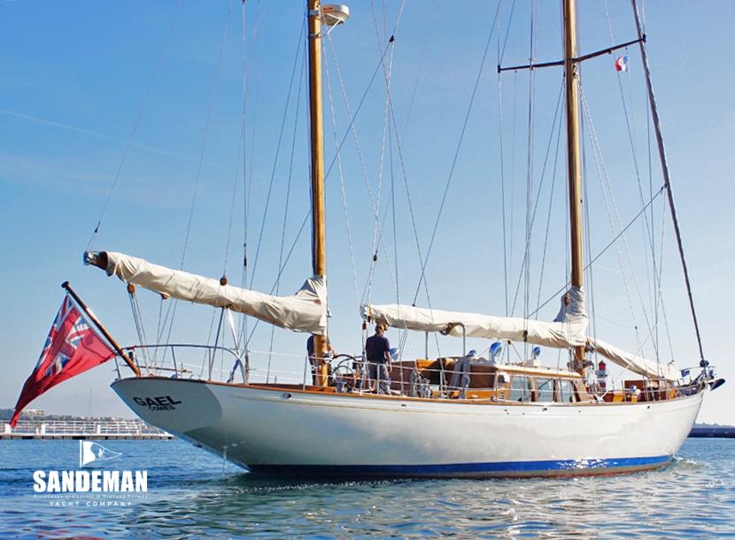 Philip Rhodes 76 Ft Ketch 1962 Sandeman Yacht Company