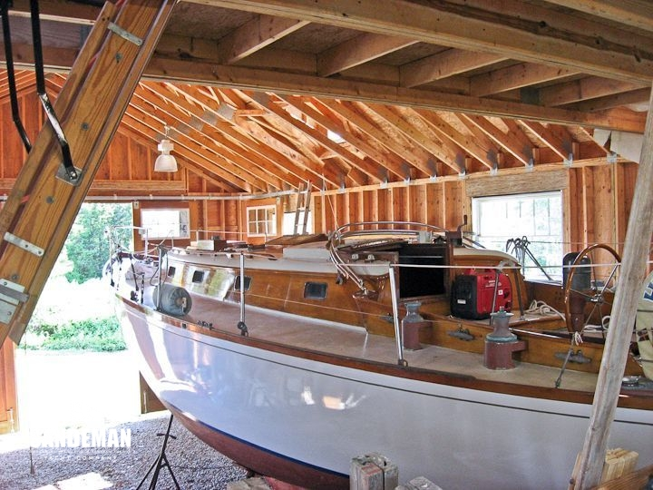 Aage Nielsen 41 ft Yawl 1964 - Sandeman Yacht Company