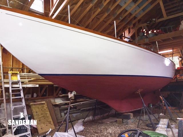 Aage Nielsen 41 ft Yawl 1964 - Sandeman Yacht Company