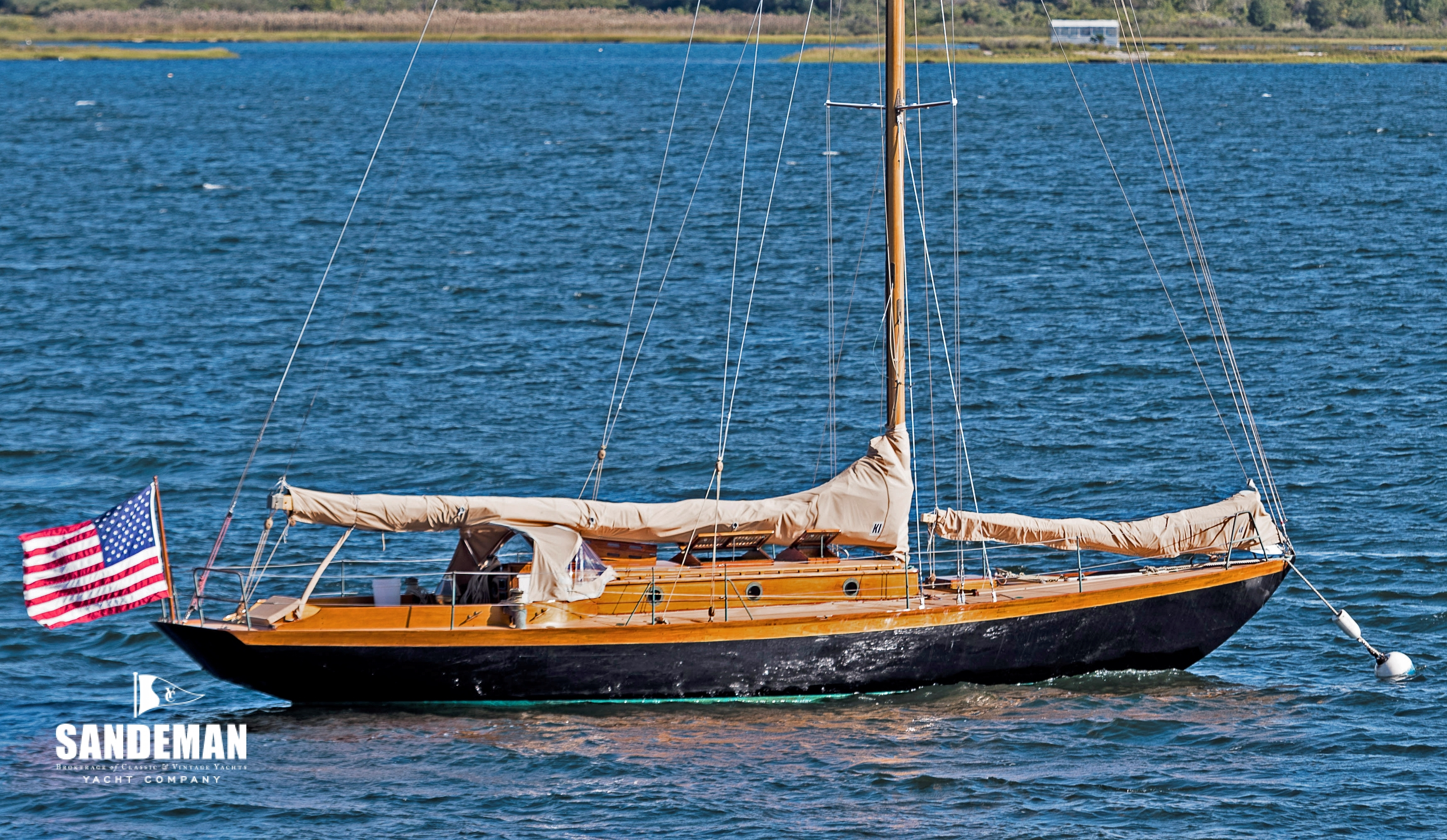 Herreshoff Fishers Island 31 43 Ft Sloop 1929 Sandeman Yacht Company To Boat Builders And Recreational Boats Typical Wiring Diagram Kestrel New Main