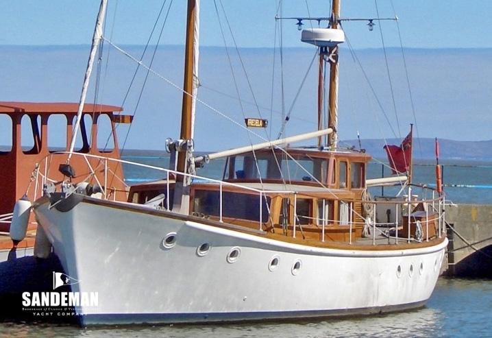 G L Watson Motor Sailer 1964 Sandeman Yacht Company