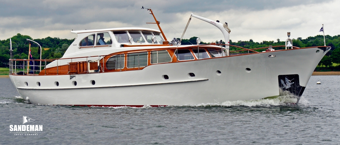 Motor yachts sandeman yacht company for Vintage motor yachts for sale