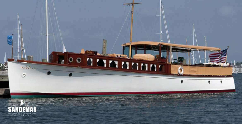 Great Lakes Boat Building 62 ft Commuter Yacht 1921 - Sandeman Yacht ...
